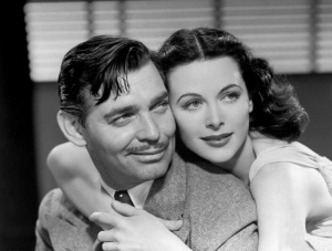 2. Publicity photo with Clark Gable from Comrade X