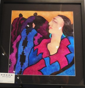 Janet Trobough trademark watercolor painting. Submitted photo.