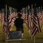 Veterans Day celebration at 'One Thousand Flags over Mesquite'