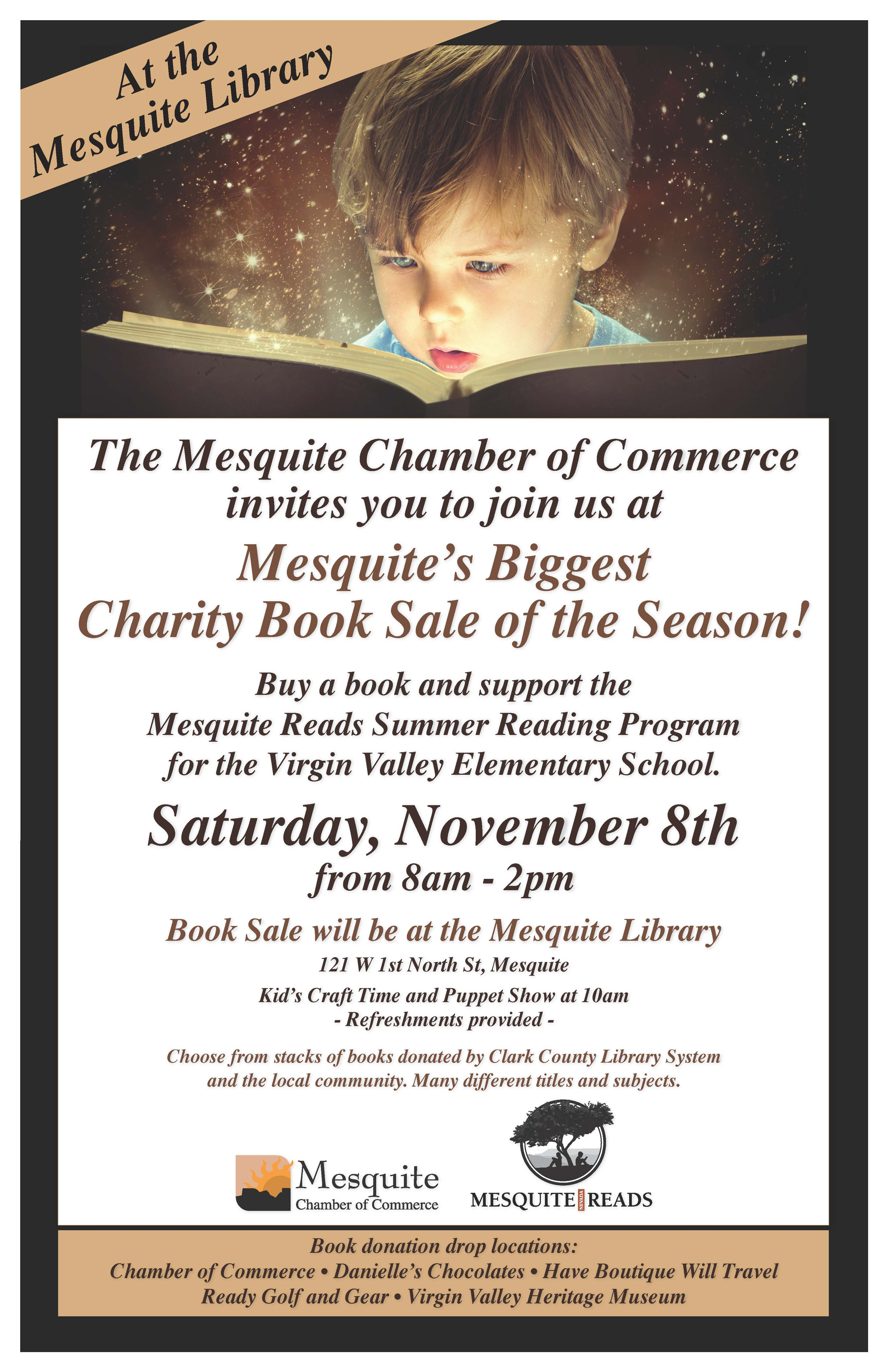 Book Sale to Benefit Mesquite Reads Program tomorrow