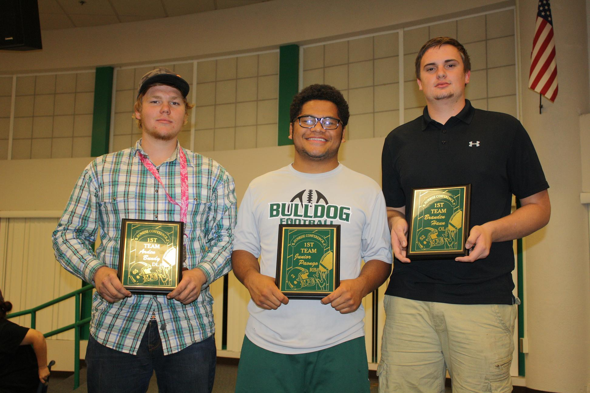 Bulldog football holds annual awards banquet