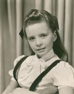 1b. Margaret OBrien early publicity shot