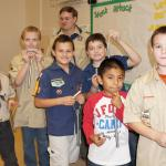 Seven Cub Scouts Receive Their Arrow of Light