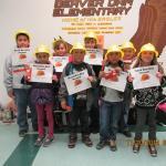 Hard Hat Heroes and Pop Run at Beaver Dam Elementary School