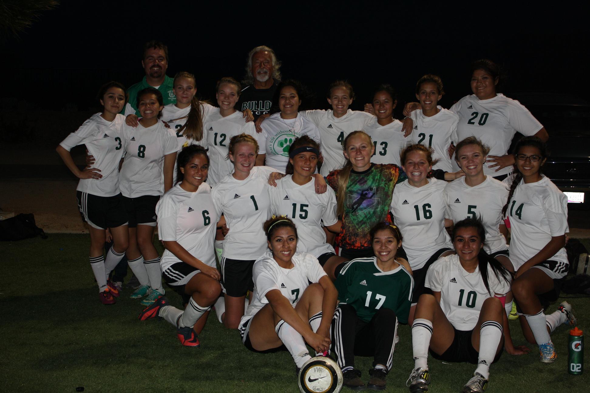 Kokopelli Athlete of the Week: 2014 Girls' Soccer Team