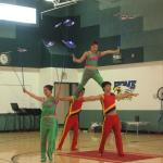 Chinese Acrobats Dazzle Beaver Dam Eagles