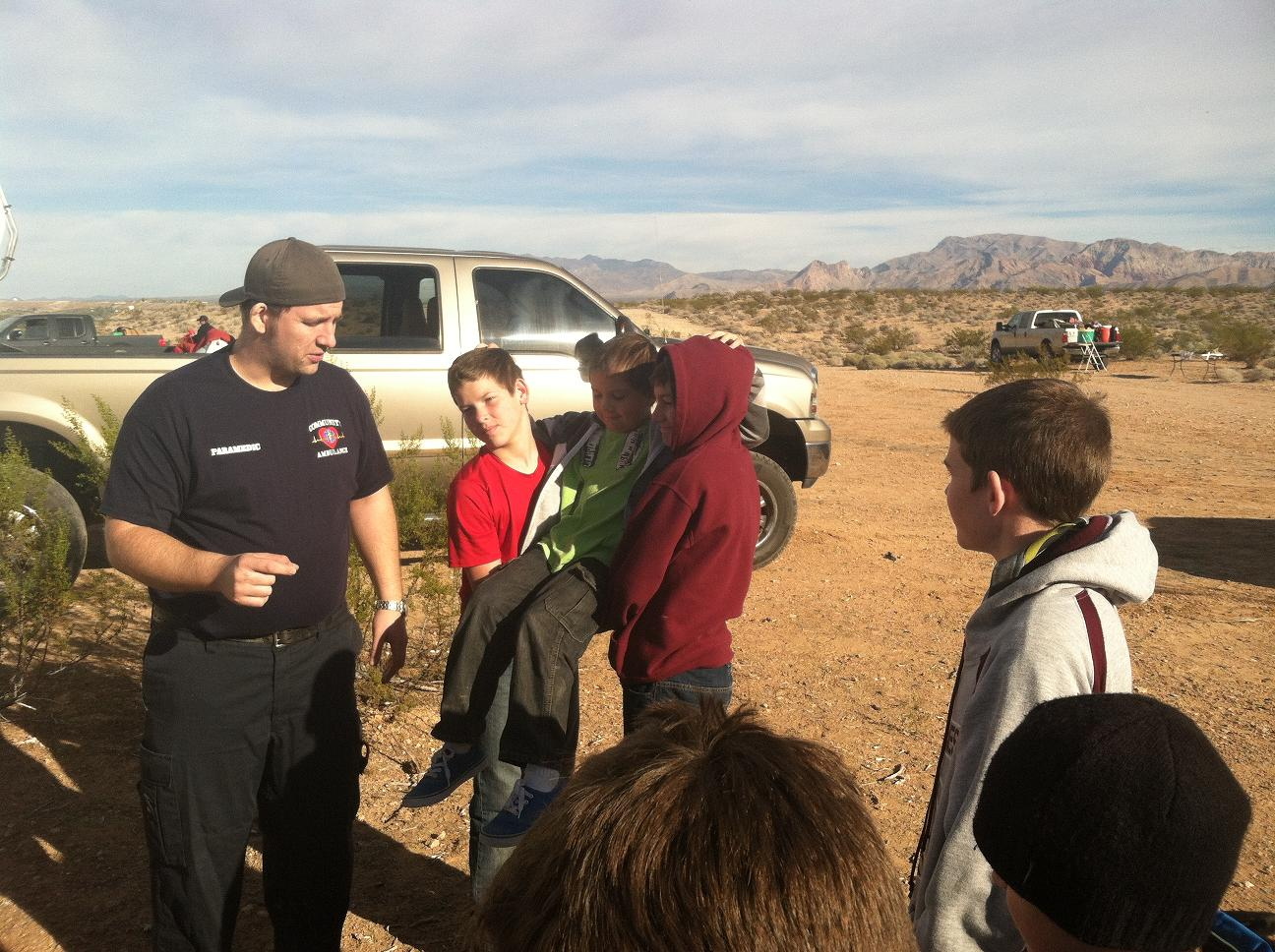 Local Scouts gather for Camporee