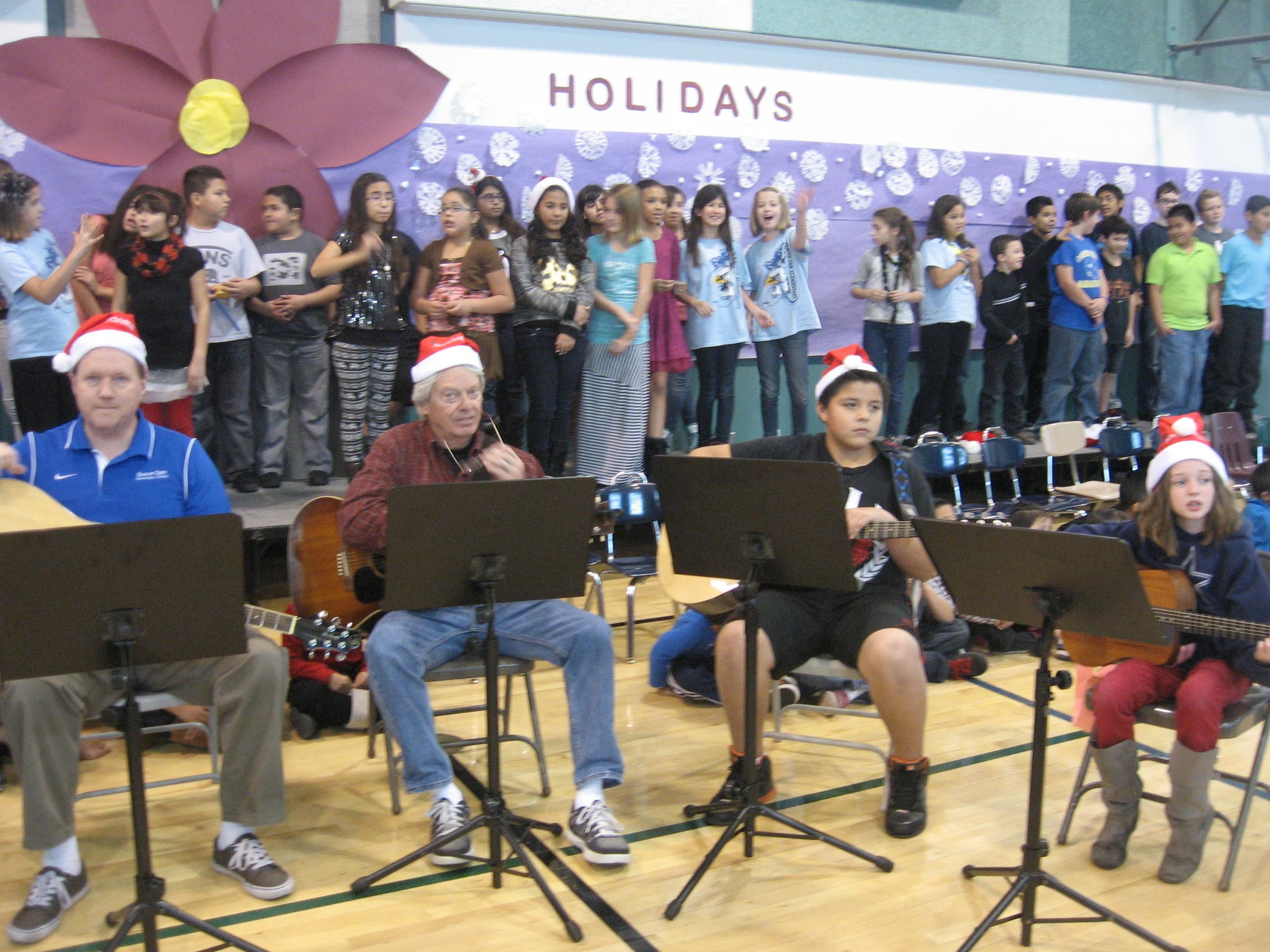 Happy Holidays Concert Program at Beaver Dam Elementary School