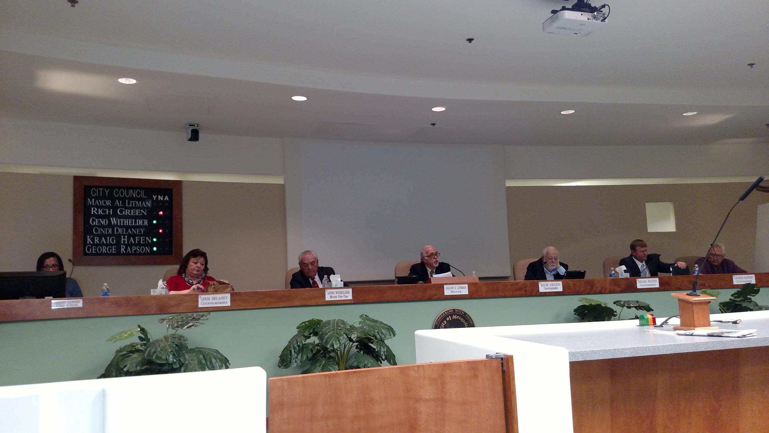 Council Approves Agreement with Union, other items