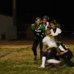 Gridiron gals lose 31-14 to Spartans