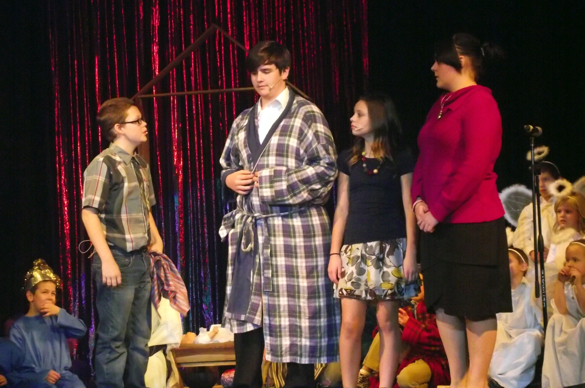 The Christmas Pageant.The Herdman Kids Will Ruin The Christmas Pageant