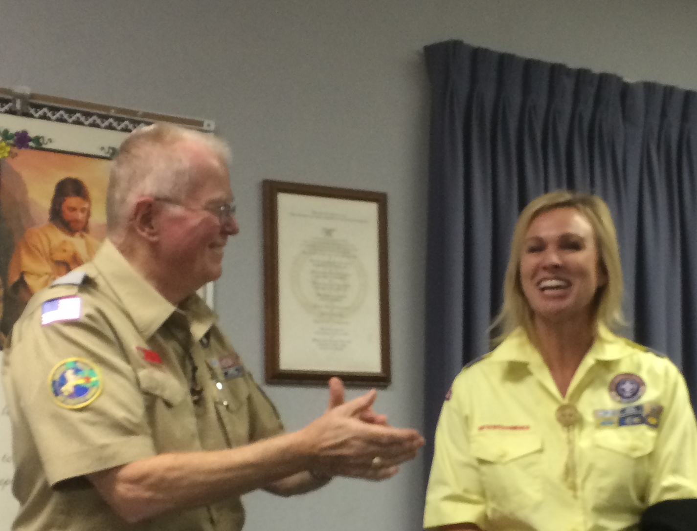 Scout Leaders honored