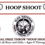 Annual Elks Hoop Shoot
