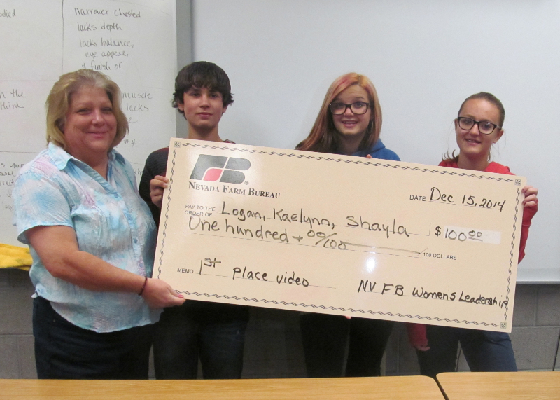 Southern Nevada students win 2014 Nevada Farm Bureau Video Contest