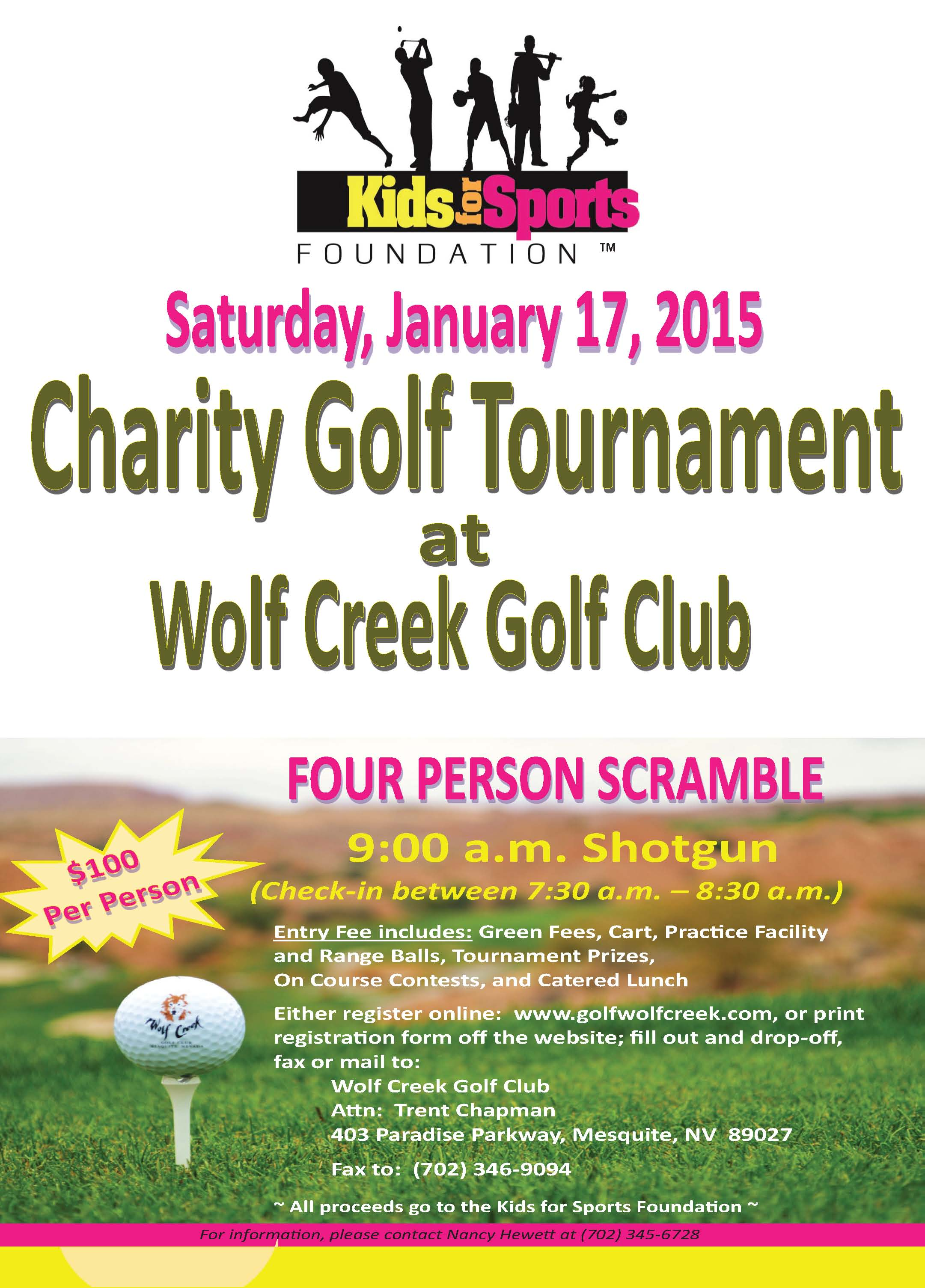 Kids for Sports Fundraiser Saturday
