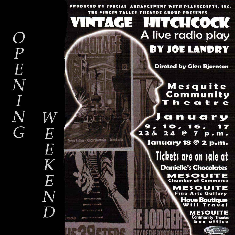Vintage Hitchcock starts tonight