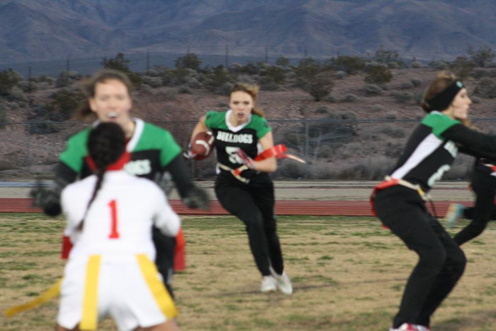 Gridiron Gals lose in squeaker to Aggies 13-12