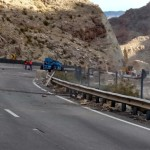 Motorists experience slight delays through Virgin River Gorge
