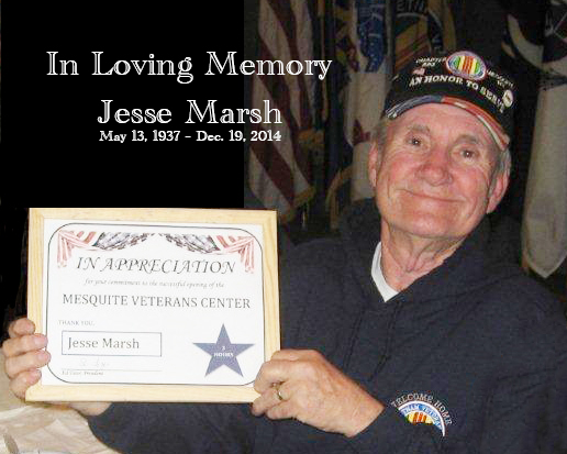 Obituary: Jesse Marsh