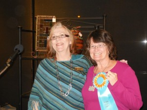 President Jean Wiensch with People's Choice Winner, Susan Holladay