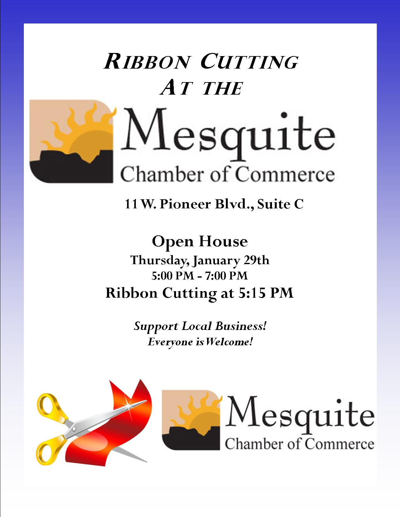 Chamber Ribbon Cutting Tonight