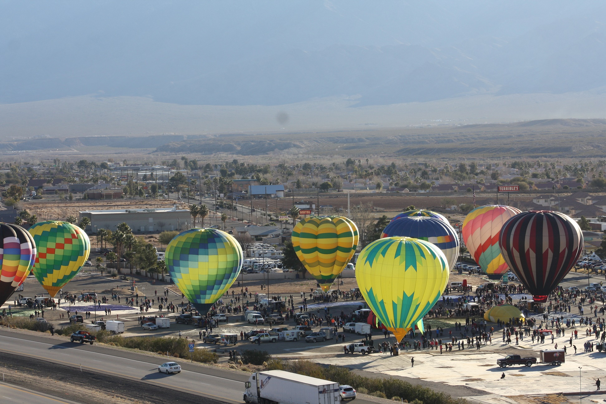 Mesquite Gaming calls on volunteers in the community for its annual Mesquite Hot Air Balloon Festival
