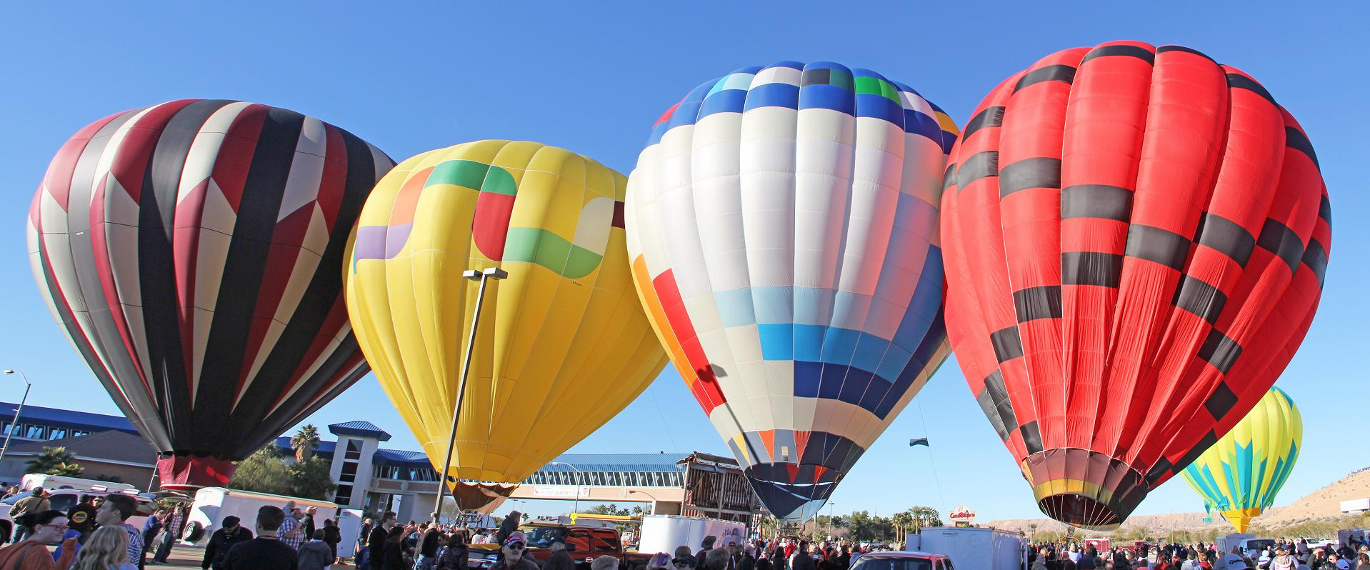 Hot Air Balloon Festival hampered by wind