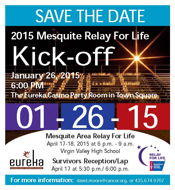Kickoff for Relay for Life Tonight
