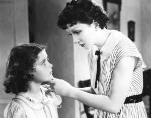 Imitation of Life 1934 Marilyn Knowlden with screen mother Claudette       Colbert