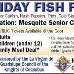 Friday Fish Fries Start next week