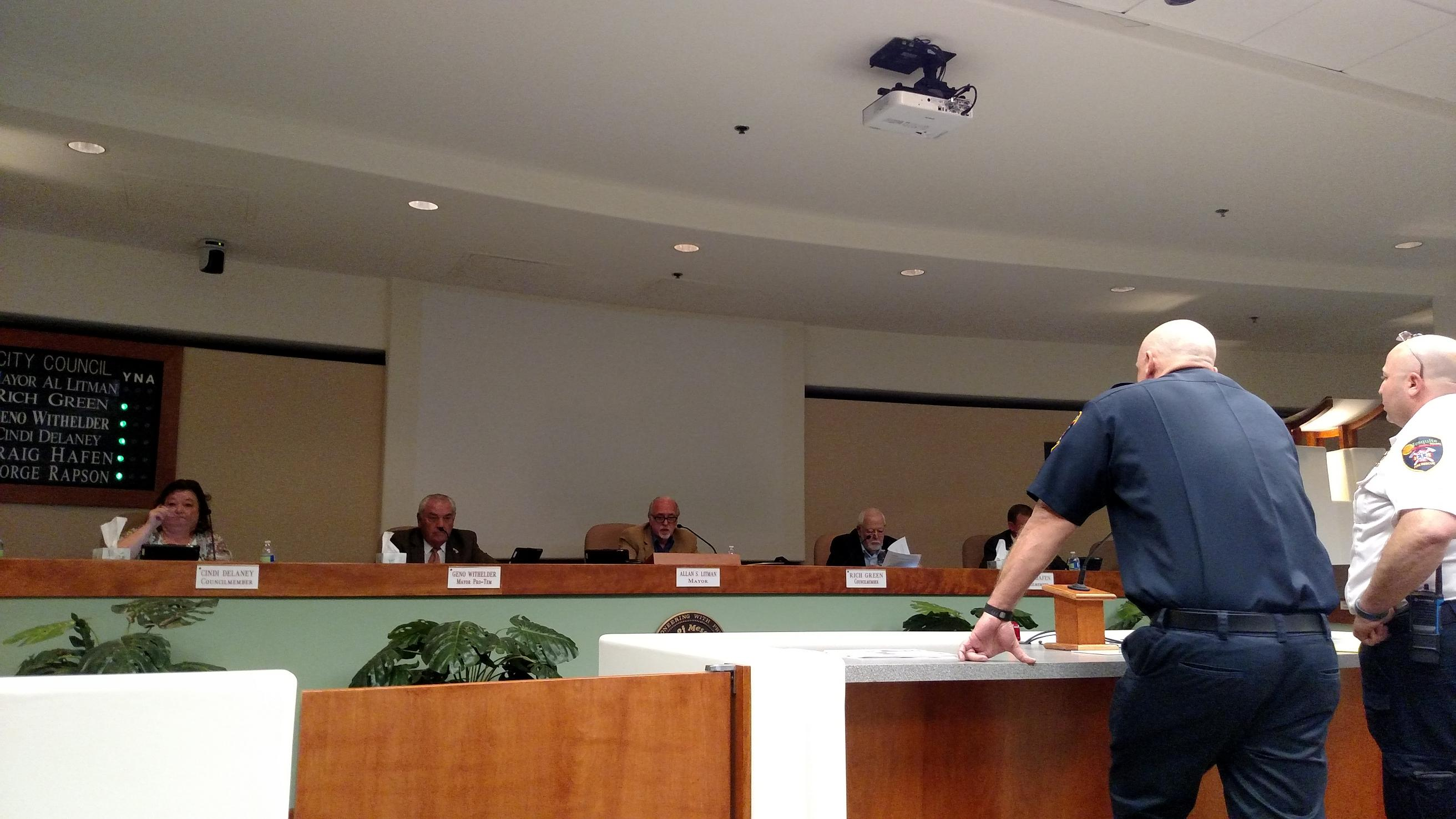 Council Approves Firefighter Agreement, Denies Management's Agreement