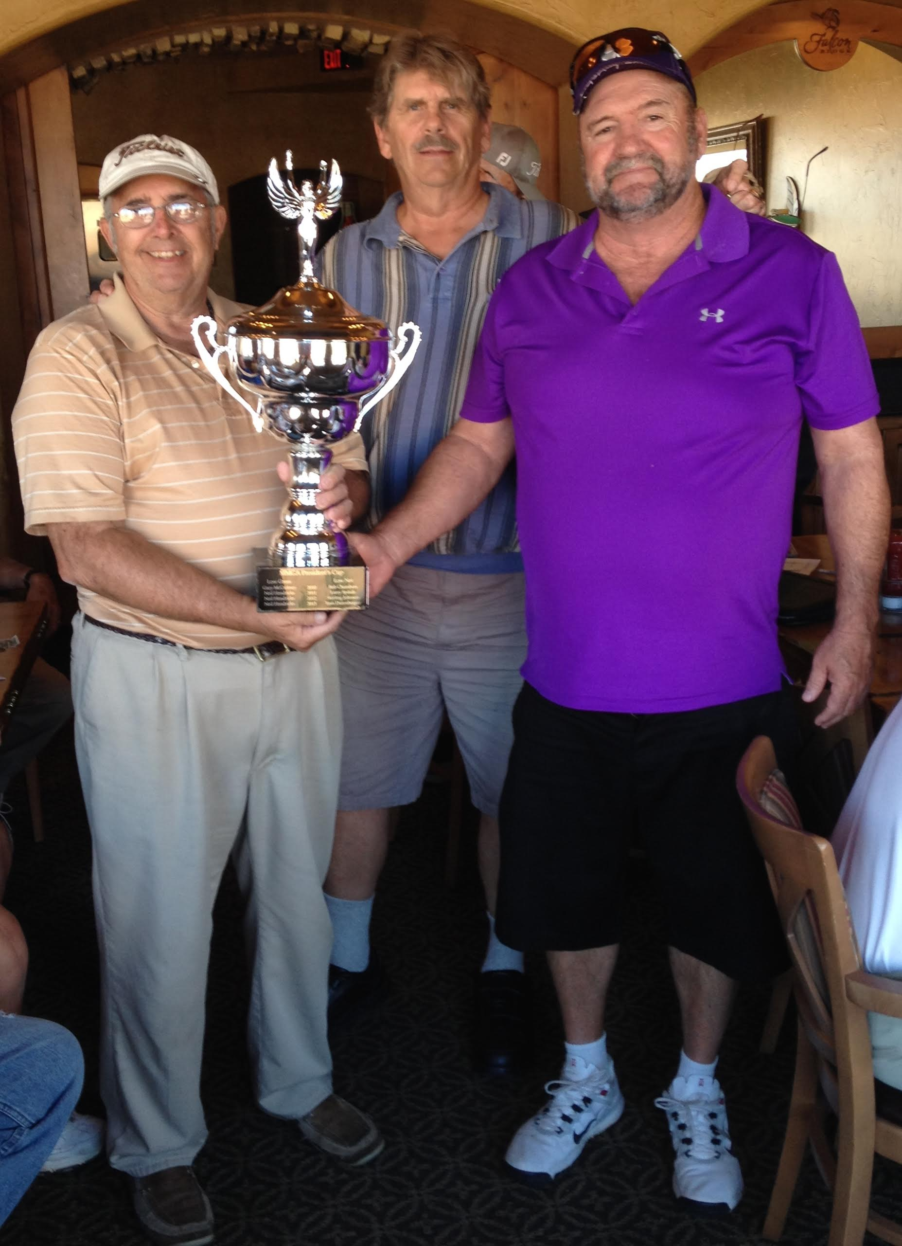 LeVan Takes MMGA Presidents Cup