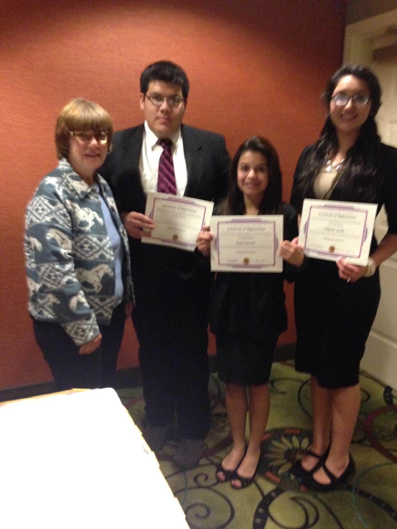 Mesquite Lions Announce 2015 Winner Of Student Speech Contest