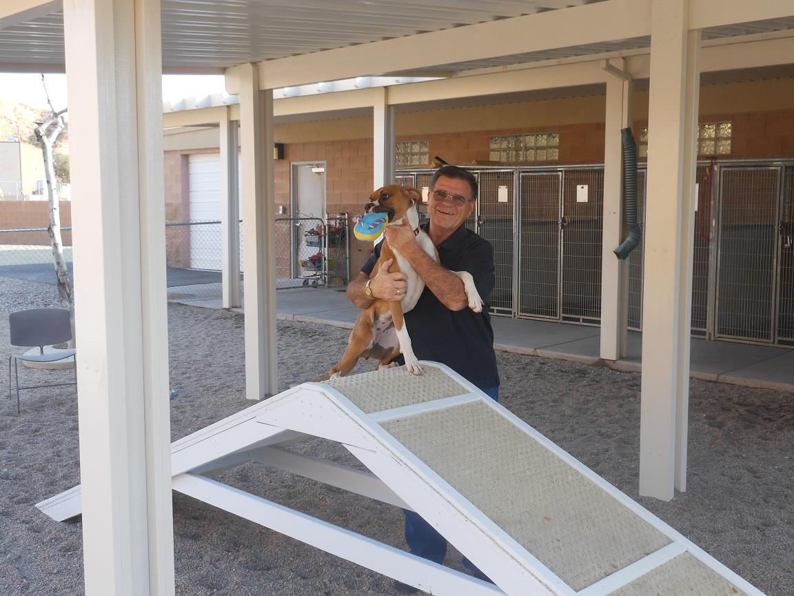 Friends of Mesquite Animal Shelter give tools