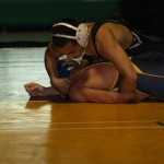 Grapplers pluck undefeated Eagles win 1-A Sunrise League
