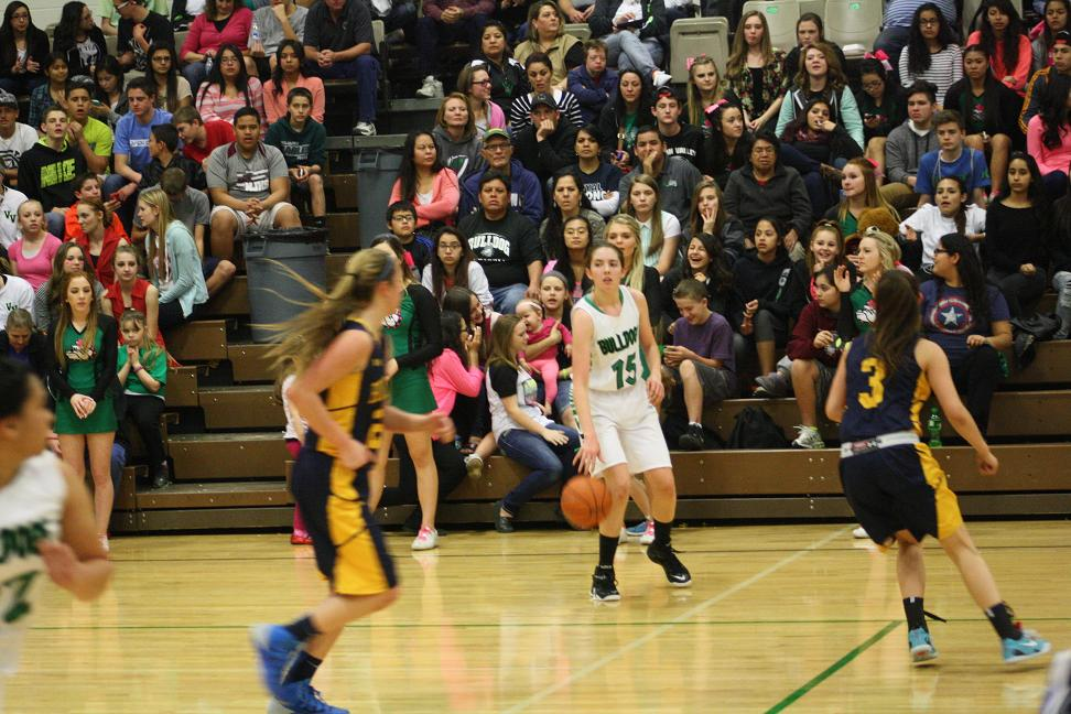 Lady Bulldogs lose overtime thriller to Eagles 60-55