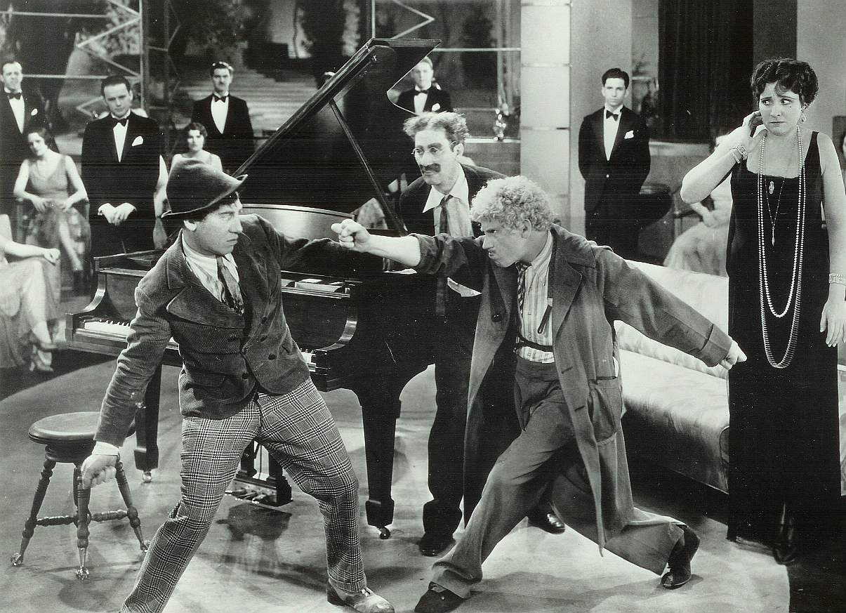 Harpo, the Silent Star of the Talkies