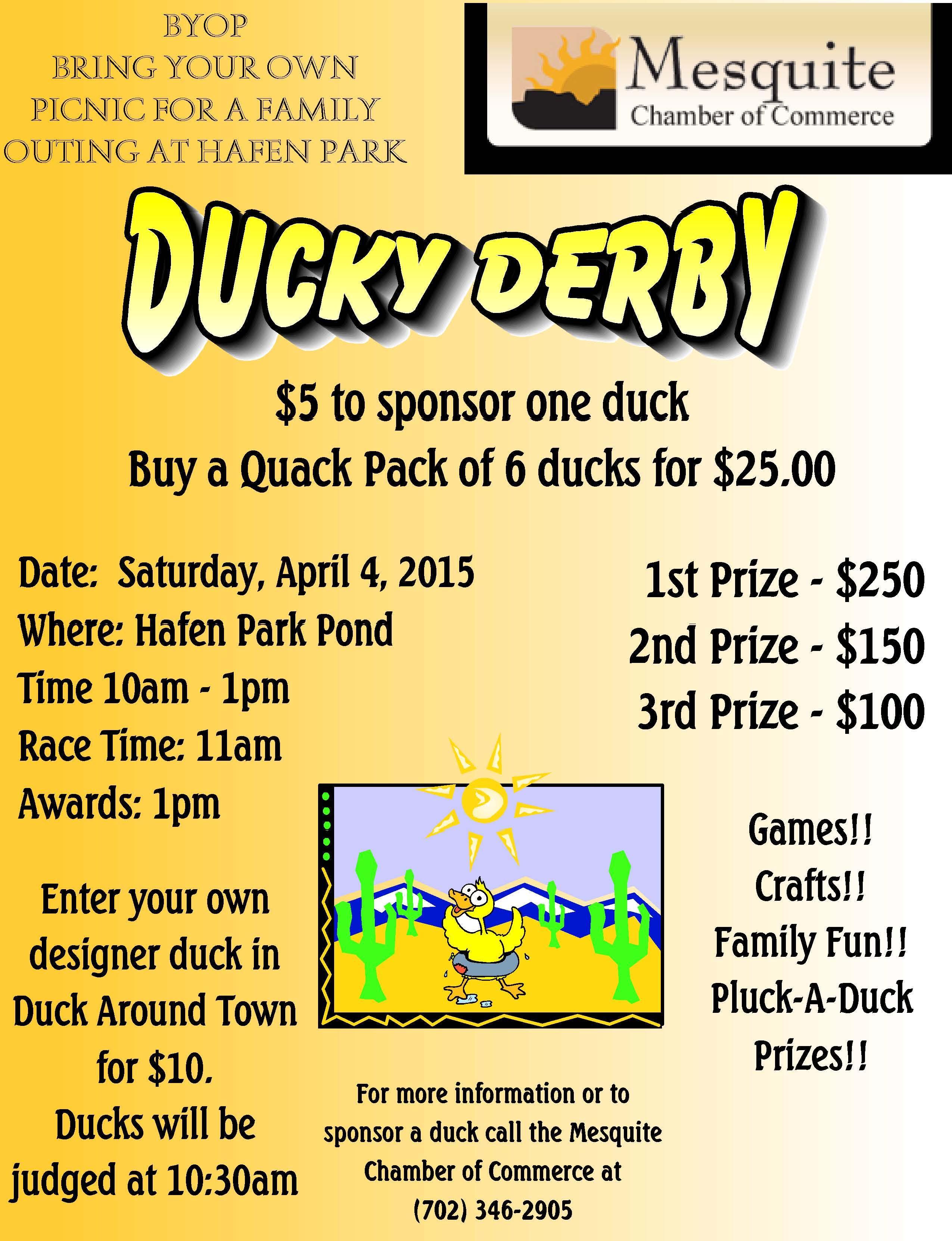 Ducky Derby Saturday