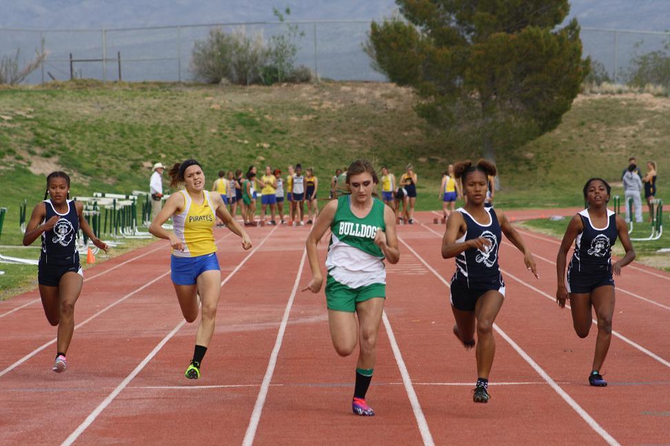 Bulldogs host quad track meet