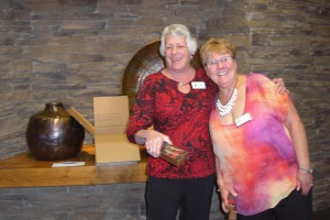 Kathy Heiter and Tammy Caldwell