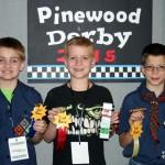 Pine Wood Derby Excitement