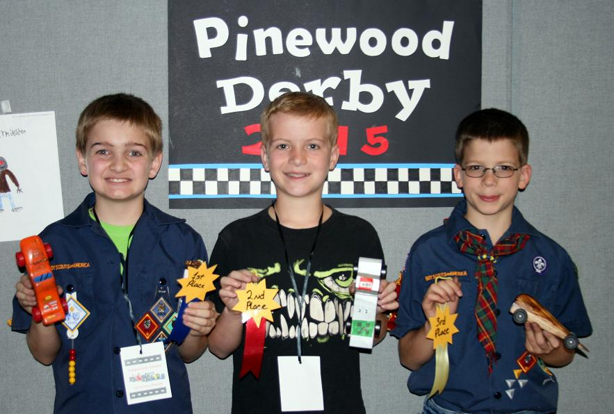 Pine Wood Derby Excitement