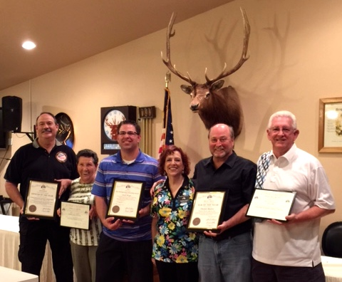 Mesquite Elks Lodge Announces It's Citizen of the Year and Outstanding Members