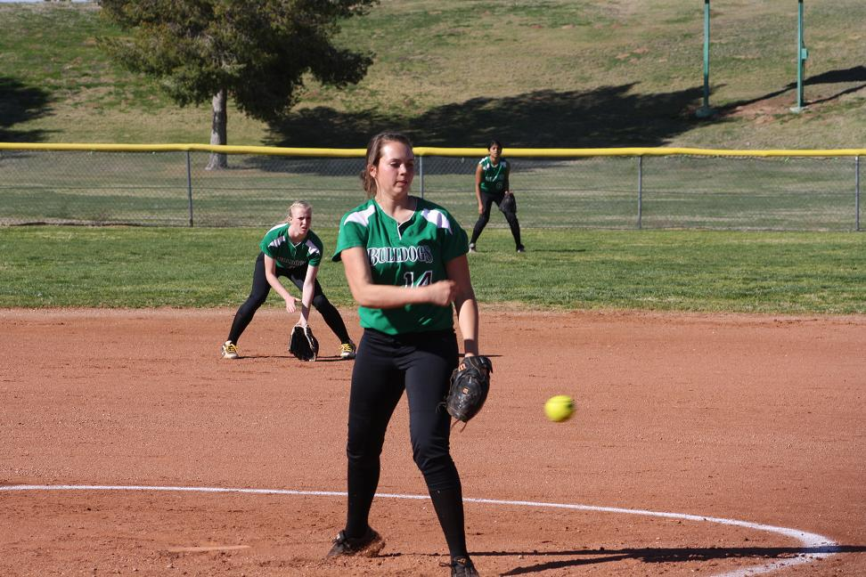 Warriors crush Bulldog softball team 22-7