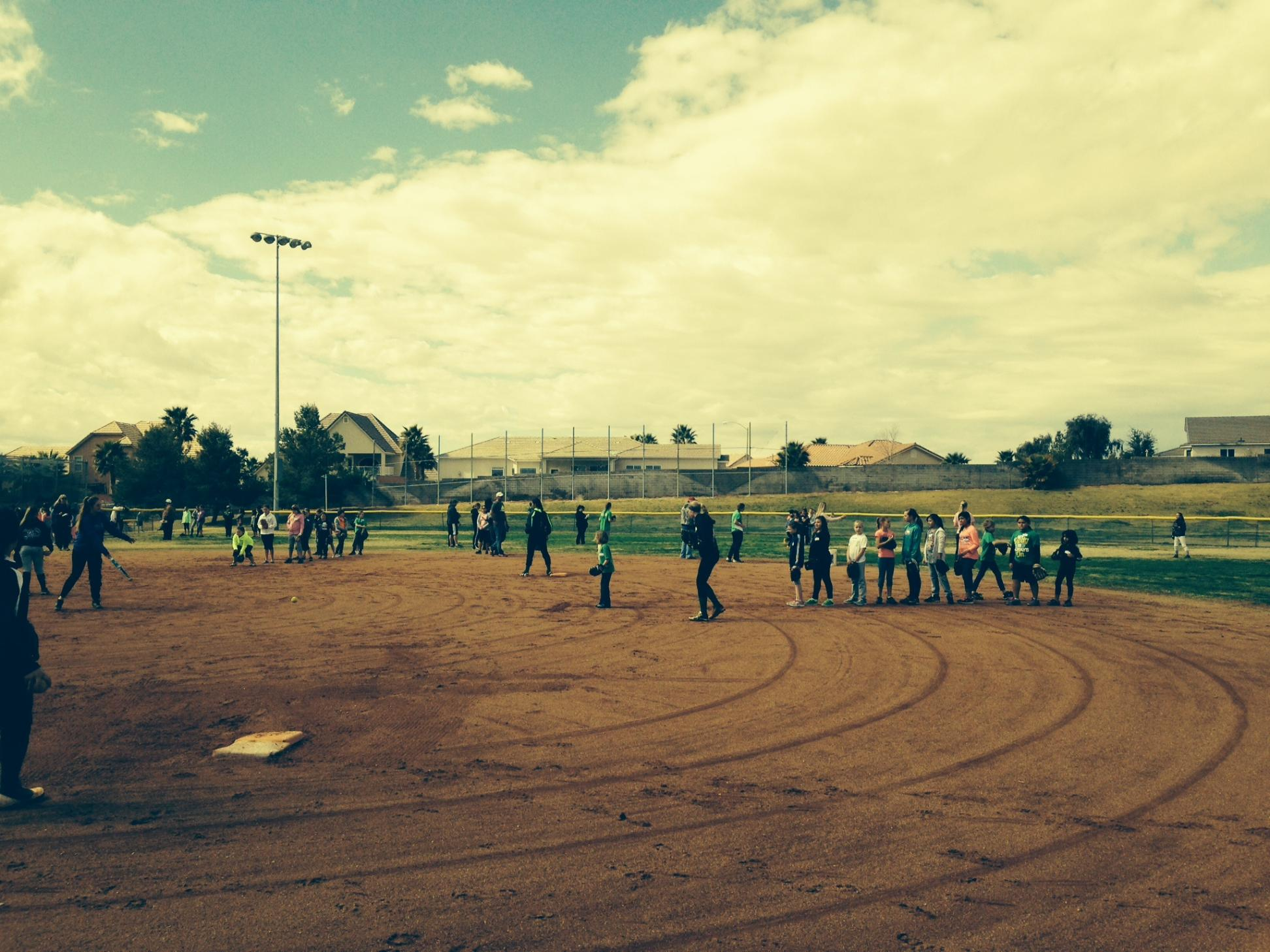 Huge turnout for 2015 Mesquite Little League program