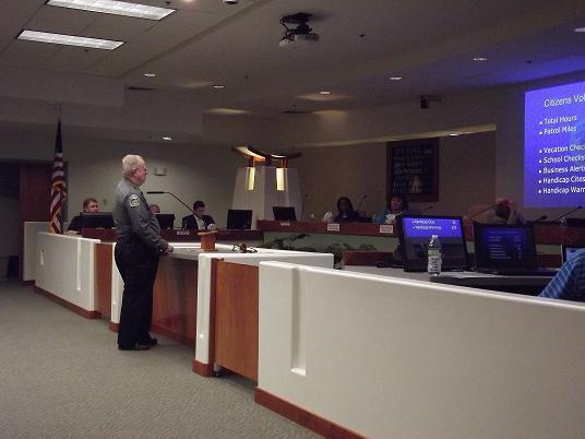 Police Volunteer Efforts Recognized