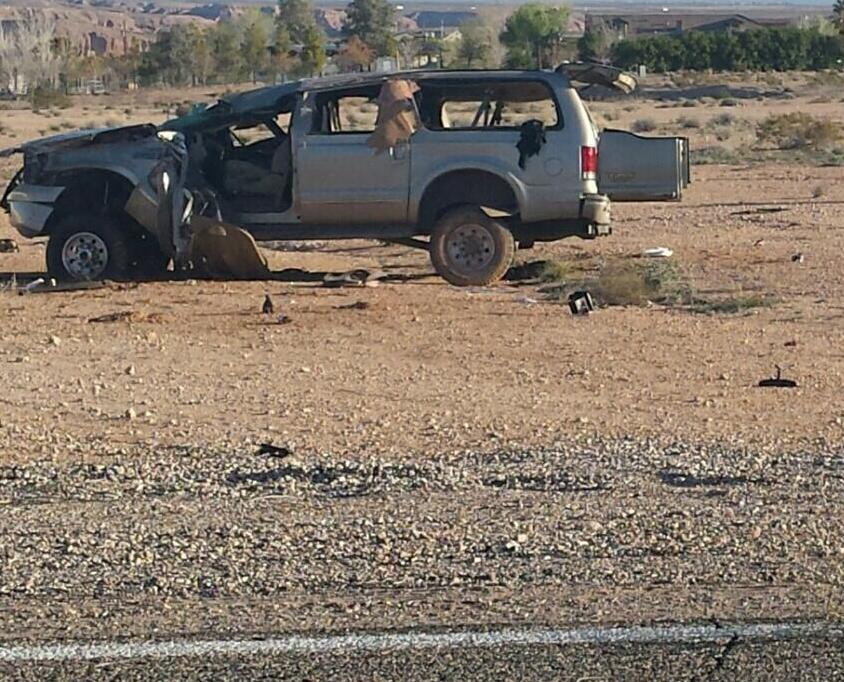 Rollover in Scenic kills one, injures two others
