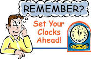 Check your stocks as you reset your clocks, March 8