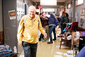 Richard Erdman from Community.  Photo by Trae Patton - Courtesy of Sony Pictures Television