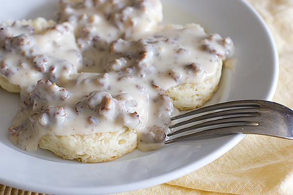 Biscuits And Sausage Gravy Annies home: week of biscuit and gravy